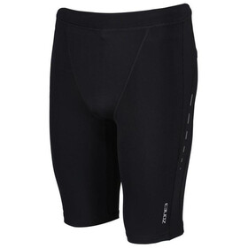 Zone3 Compression Shorts Men, black/gun metal